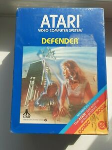 Atari 2600 Defender SEALED New In Box NIB with Comic Book Shrinkwrap