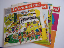 5 FRIPOUNET MARISETTE , A COEURS VAILLANTS ... N° 37.38.39.40.41. BON ETAT .