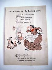 """Vintage Story Titled """"The Kewpies and the Scolding Aunt"""" by """"Rose O'Neill"""" *"""