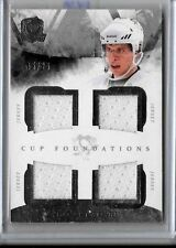 SIDNEY CROSBY 2010-11 CUP FOUNDATIONS GAME USED  QUAD JERSEYS#/25