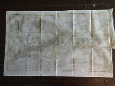 1843 Map of British Possessions in North America w/Part of the Us