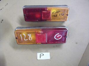 Fiat 128 rear light units (Stars 1.1990.00) .1300+Citroen parts in shop