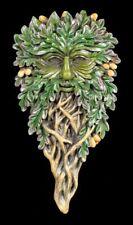 Baumgeist Wandrelief - All Seeing Oak - Waldgeist Baumgesicht Wanddeko Greenman