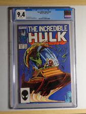 Incredible Hulk #331 CGC 9.4 NM Todd McFarlane art 2nd Peter David (Marvel 1987)