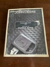 2006 John Deere 3203 Compact Utility Tractor Tachnical Manual Tm1150