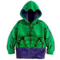 Kids Boys Marvel Superhero Hoodies Sweatshirt Jumper Coats T-shirt Outfits Set