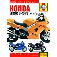 Haynes Service Repair Manual 3703 Honda Vfr800 V Fours 1997 2001 699414000265 Ebay