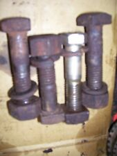 Vintage Allis Chalmers B Tractor Rear Wheel Bolts Square Loop Style 1946