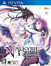 Used PS Vita Valkyrie Drive Bhikkhuni  SONY PLAYSTATION JAPANESE IMPORT