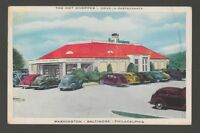 [61895] 1948 POSTCARD THE HOT SHOPPES, DRIVE-IN RESTAURANTS - WASHINGTON D. C.
