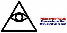 """CAO DAI Eye of Providence Graphic Die Cut decal sticker Car Truck Boat Window 6"""""""