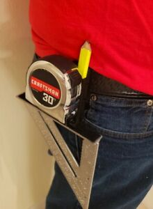 Builder Buddy Speed Square and Tape Measure Holder