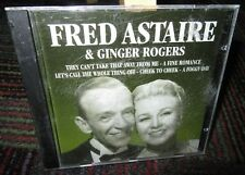 FRED ASTAIRE & GINGER ROGERS: SELF TITLED MUSIC CD, 12 GREAT TRACKS, IMPORT, GUC