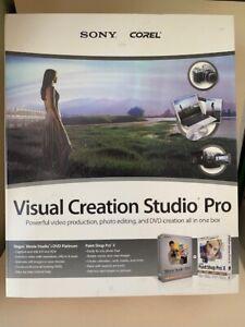 Corel Sony Visual Creation Studio Pro_Retail Box