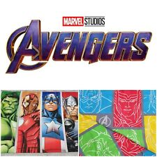 Marvel Avengers Reversible Single Duvet Cover Set inc Pillowcase - Used Once