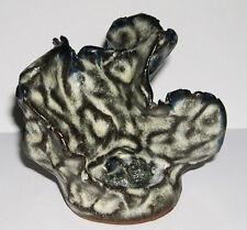 Henry joblin ART Pottery-Astratto sgualcita Foglia Design-Potters Mark.