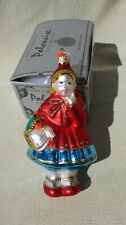 polonaise little red riding hood christmas tree ornament kurt adler poland