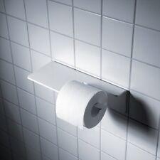 Puro Toilettenpapierhalter weiß radius design Papierrollenhalter