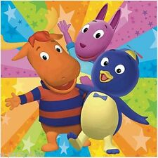 BACKYARDIGANS LARGE NAPKINS (16) ~ Birthday Party Supplies Dinner Luncheon Pablo