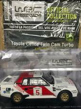 Modellino Auto Macchina Rally WRC n 34 Toyota Celica Twin Cam Turbo 1984 1:24