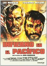 Hell in the Pacific - Infierno en el Pacifico - John Boorman -  Lee Marvin