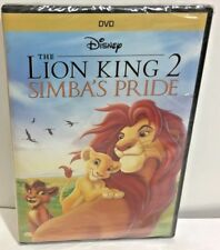 The Lion King II: Simbas Pride DVD Disney Matthew Broderick James Earl Jones new
