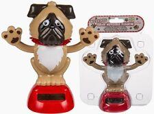 Solarfigur Solar Wackelfigur Bulldogge Dogge Hund Scherzartikel Wichtelgeschenk