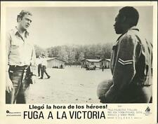 Michael Caine Pelé (soccer legend) in Victory 1981 original movie photo 22888