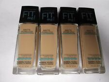 4 MAYBELLINE FIT ME FOUNDATION MATTE+PORELESS - #222 - EXP: 10/18+ RR 22999