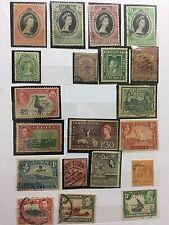 BRITISH COLONY STAMPS 51pc ULTRA RARE UNIQUE jamaica/cyprus/aden/brunei/togo/