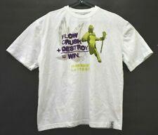 Flow Society Men's Xl Cotton Lacrosse Flow Crush Destroy Win Graphic T-Shirt