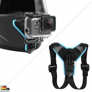 Motorrad Helm Halterung Halter Chin Mount Zubehör für Gopro Hero Kamera