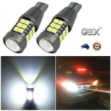 2 X T15 921 912 W16W 6000K White 4014 SMD 27 LED BackUp Reverse Light Bulbs