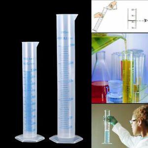 100/250ml Cilindro Graduato Plastica Per Cucina Bar Laboratorio