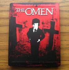 THE OMEN (1976) Gregory Peck, Lee Remick - BLU-RAY - STEELBOOK - REGION FREE