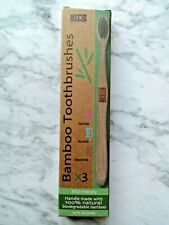 Bamboo Eco Friendly Pack Of 3 Toothbrushes