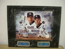 Derek Jeter & Alex Rodriguez New York Yankees MLB Plaque/Display