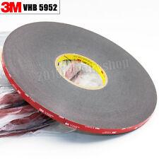 10mm x33meter Black 3M VHB 5952 Double Side Acrylic Foam Adhesive Tape