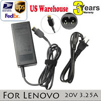 65W AC Laptop Adapter Power Charger Supply for Lenovo  ThinkPad E431 E531 E550