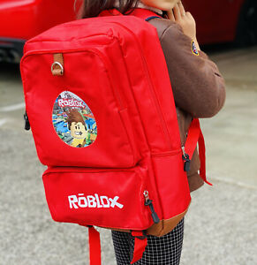 Roblox Inspired Gamer Backpack Kids Boys Laptop Book School bag. Great quality.