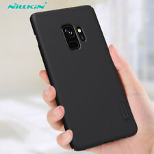 NILLKIN For Samsung S9 S8+ S7 S6 edge Shockproof Frosted Shield Hard Black Case