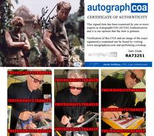 "Martin Sheen signed Autographed ""Apocalypse Now"" 8X10 Photo C - Proof - Acoa Coa"