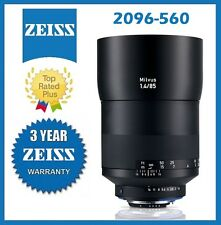 Pre- Order Zeiss Milvus 85mm f/1.4 ZF.2 Lens for Nikon F Mfr # 2096-560