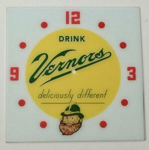 """NEW 15"""" Vernors Square Replacement Face for Pam Clock"""