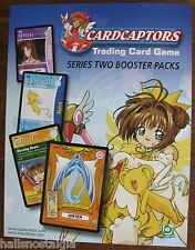 Card Captors Trading Card Game 2001 Upper Deck SELL SHEET (no cards) Series Two