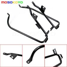 Rear Saddlebag Support Bracket Kit For Harley Electra Road Glide FLHX FLTR 09-13