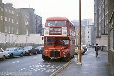 London Transport RM1588 Allsop Place 1979 Bus Photo