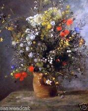 Flowers In A Vase by Auguste Renoir - Floral