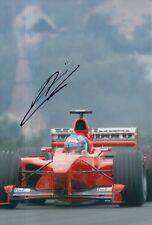 Mika Salo Hand Signed Scuderia Ferrari 12x8 Photo F1 6.