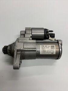 14-17 VW POLO 6R MK8 1.4 TDI DIESEL STARTER MOTOR VW AG 02Z911021C